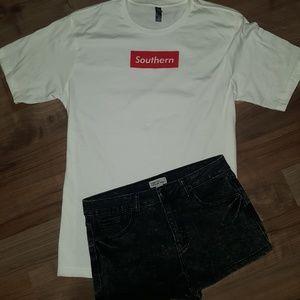 Forever 21 Premium Denim Shorts
